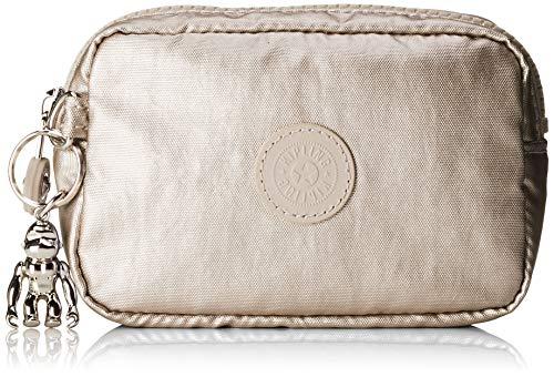 Kipling Gleam S, Bolso de Tocador para Mujer, Dorado (Cloud Metal), 14x9.5x5.5 Centimeters (B x H x T)