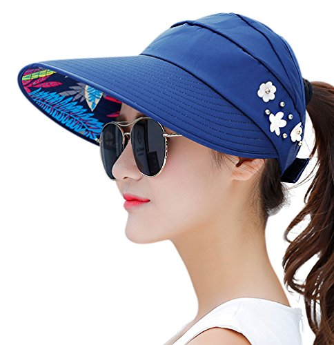 HindaWi Sun Hats for Women Sun Hat Wide Brim UV Protection Summer...