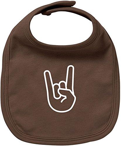 EZYshirt® Rock Hand Baby Lätzchen Halstuch