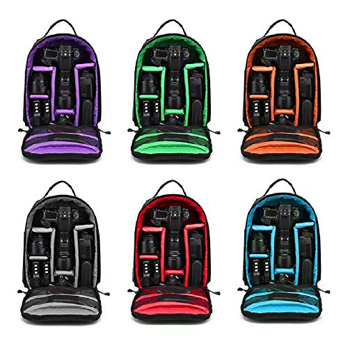 Best Waterproof Shockproof Bag Backpack for Canon EOS Sony Nikon DSLR Digital Camera #TZTY