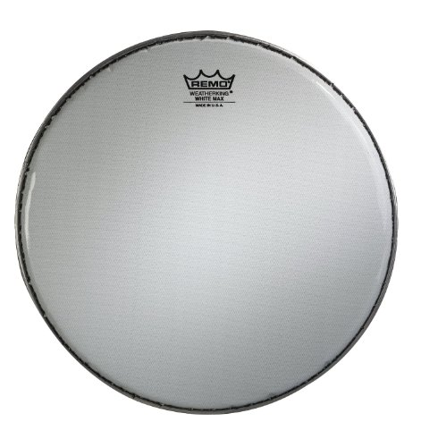 Remo KS361400 White Max Marching 14-Inch Snare Batter Drum Head with Underlay