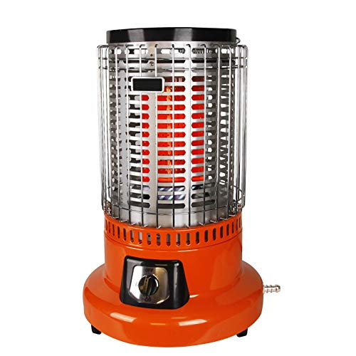 BZDBZ Outdoor Patio Heater, 2 in 1 8000W Natural Gas Heater Camping Stove Adjustable Outdoor Heaters, Suitable for Indoors and Outdoors