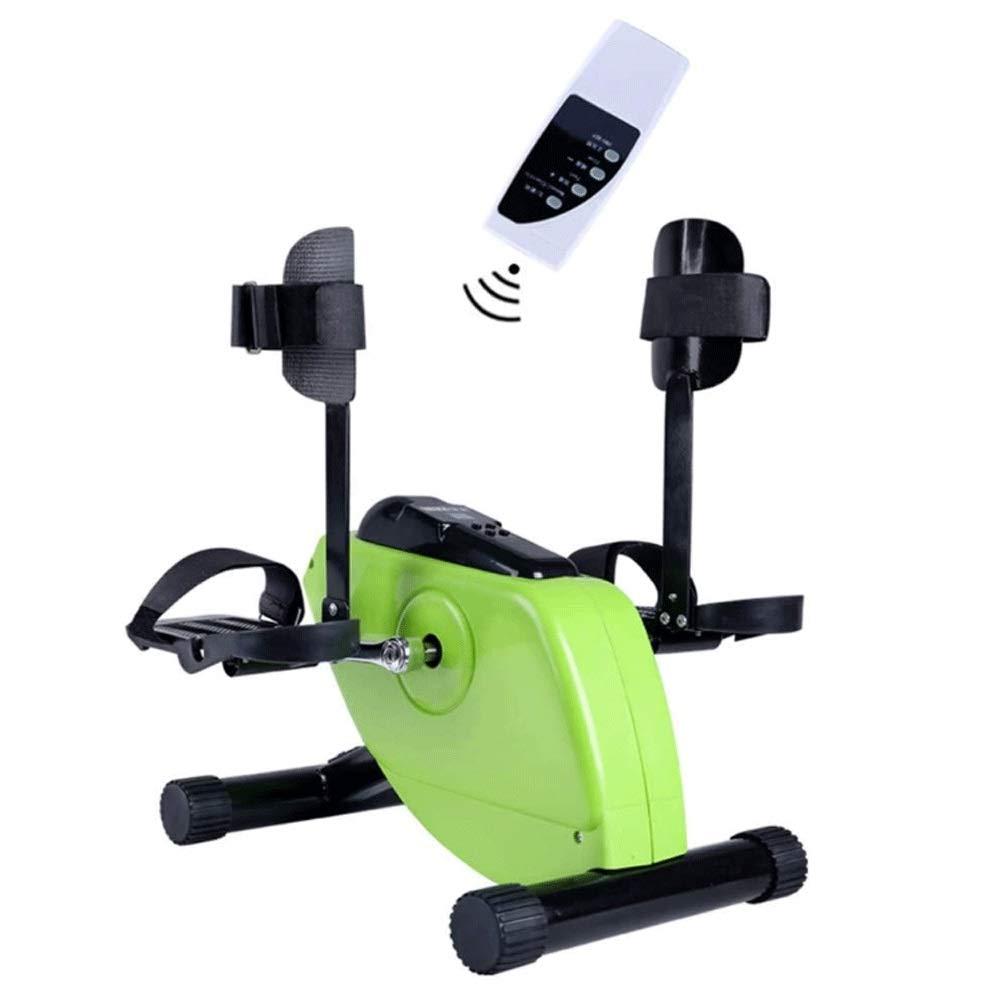 JNWEIYU Bicicleta estática, Pedal eléctrico ejercitador Médico Vendedor Ambulante for la Pierna del Brazo y la Rodilla recuperación del Ejercicio con el Monitor LCD y Control Remoto: Amazon.es: Deportes y aire libre