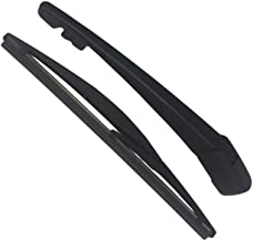 Rear Wiper Arm and Blade, SEMOLTO Rear Windsheild Back Wiper Arm And Blade with Cover Set For Honda VEZEL 2015-2017 New OE: 76720-T7J-H01