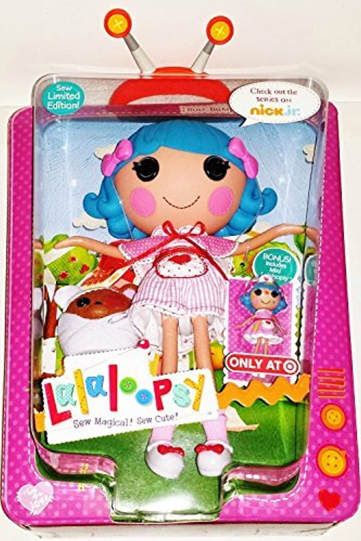 MGA Lalaloopsy Limited Edition 12 Inch Tall Button Doll - Rosy Bumps 'N' Bruises with Pet Boo-Boo Bear and Bonus Mini 3 Inch Doll by Lalaloopsy