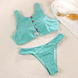 Señoras Traje Baño Bikini String Bikini Set Bandeau Biquinis Feminino Vendaje Traje De Baño Mujeres Traje De Baño String BikinisTraje De BañoFemen
