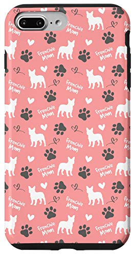 iPhone 7 Plus/8 Plus Frenchie Mom French Bulldog Mom Pink Women Gift Case