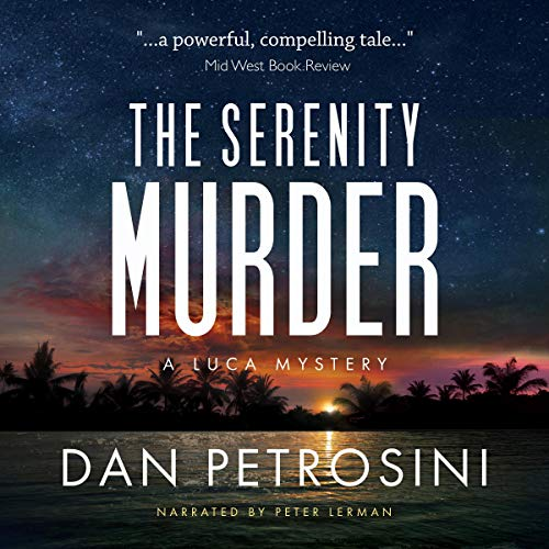 The Serenity Murder audiobook cover art