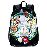 Mochilas Escolares para Niños Doraemon, Bolsas De Almuerzo Escolar, Bolsas para Computadora, Bolsas De Juguetes, Regalos para Niños,17.7 Pulgadas * 5.5 Pulgadas * 12.2 Pulgadas