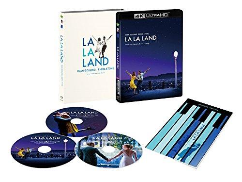 【メーカー特典あり】ラ・ラ・ランド 3枚組/4K ULTRA HD+Blu-rayセット(オリジナルチケットホルダー付) [4K ULTRA HD+Blu-ray]