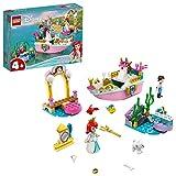 LEGO Disney Princess La Barca della Festa di Ariel, Giocattolo Galleggiante della Sirenetta per Bambini di 4+ Anni, 43191
