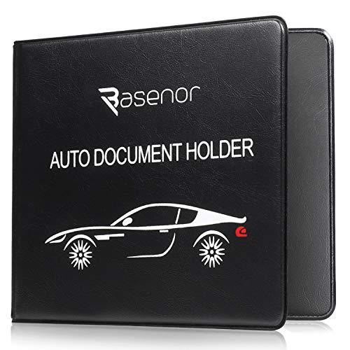 Leather Car Document Holder