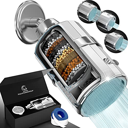 AquaHomeGroup Shower Head Filter - High Pressure Luxury...