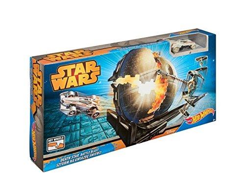 Pixar Hot Wheels Star Wars - Cgn48 - Circuit De Voiture - Bataille Contre l'empire