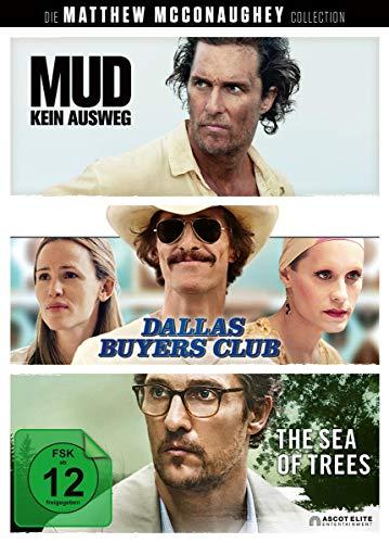 Die Matthew McConaughey Collection: Mud - Kein Ausweg / Dallas Buyers Club / The Sea of Trees [3 DVDs]