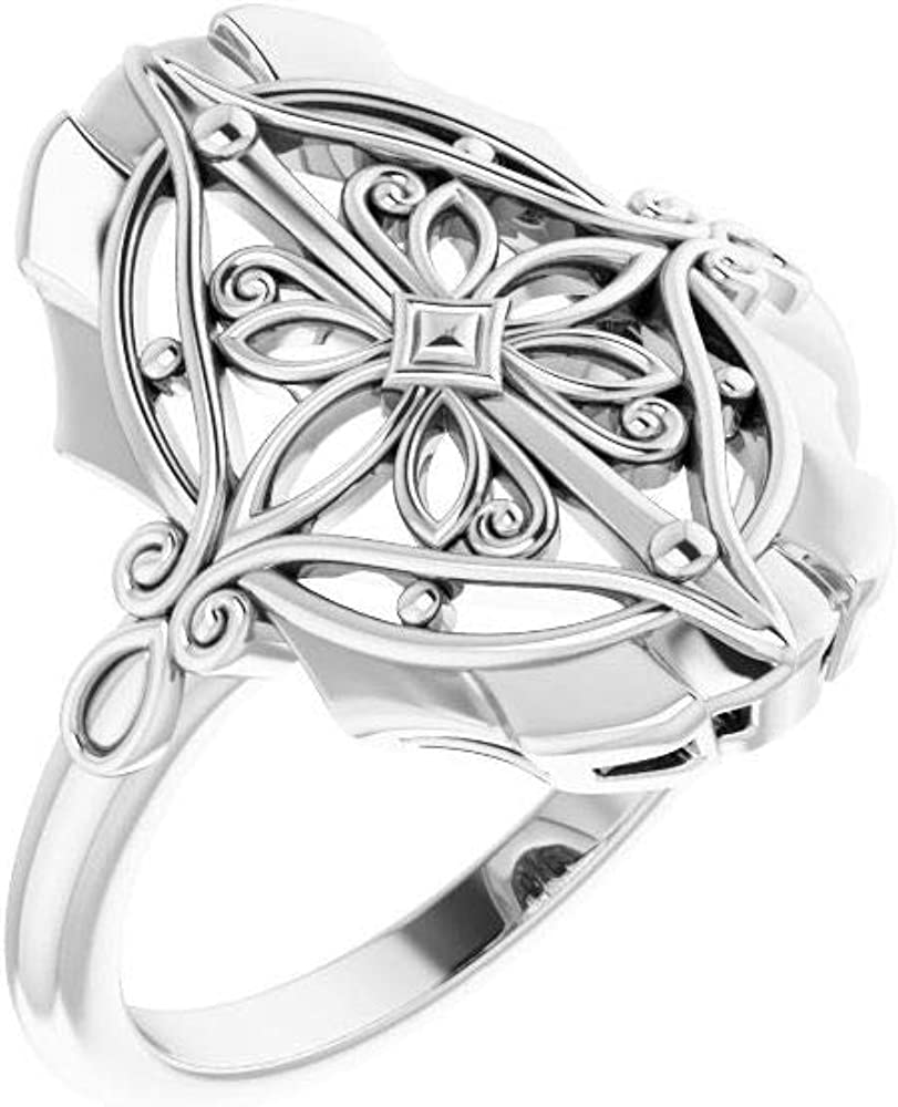 Vintage-Inspired Ring Band (Width = 7.7mm)