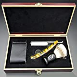 PIANAI Friseur Rasierer Vintage Rasiermesser Friseur Messer nassrasierer Herren/glatzen...
