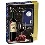 Classic Mystery Jigsaw Puzzle - Foul Play & Cabernet