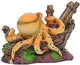TBNB Decoración de Acuario Papel Tapiz fotográfico Grande Resina Acuario Simulación Artificial Octopus Hide House Pecera Paisaje Adorno Accesorios Decoración Decoración de la Ventana de