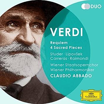 Verdi: Requiem; 4 Sacred Pieces