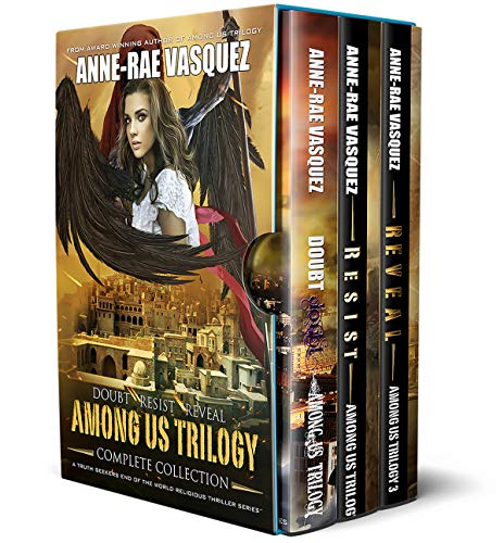 Among Us Trilogy - Complete Collection Boxset: Books 1 to 3 Boxset by [Anne-Rae Vasquez]