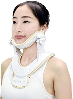 Cervical Traction Device - Home Care Neck Traction Device to Relieve Pain and Compression, Traction Anytime and Anywhere (S/M)