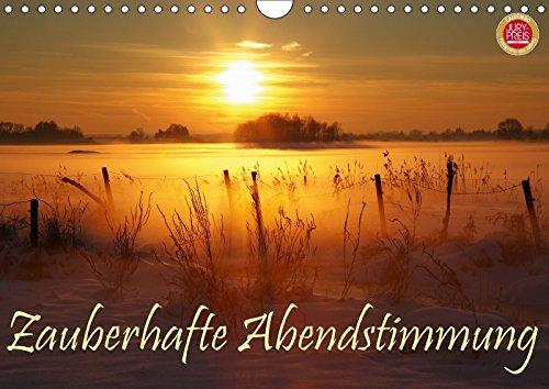Zauberhafte Abendstimmung (Wandkalender 2018 DIN A4 quer): 12 zauberhafte Sonnenuntergangs Stimmungen (Monatskalender, 14 Seiten ) (CALVENDO Natur) [Kalender] [Apr 01, 2017] Cross, Martina