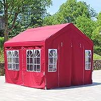 4面の折りたたみ式3X 3ポップアップガゼボ-100%防水とUV-ガーデンパーティー用のプレミアム品質のマーキーテント