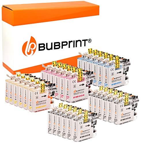30 Bubprint Druckerpatronen kompatibel für Brother LC-123 für DCP-J132W DCP-J152W DCP-J4110DW DCP-J552DW DCP-J752DW MFC-J245 MFC-J4410DW MFC-J4510DW MFC-J470DW MFC-J6520DW MFC-J6720DW MFC-J870DW