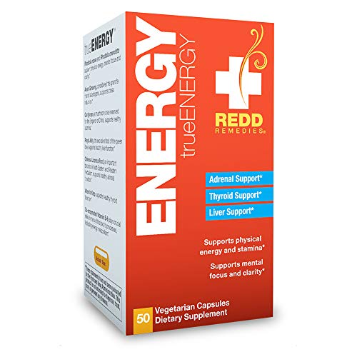 Redd Remedies, True Energy, Support for Focus, Stamina and Stress Relief, 50 Capsules