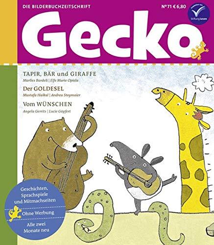 Gecko Kinderzeitschrift Band 71: Die Bilderbuchzeitschrift
