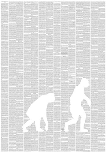 Poster Motiv The Origin of Species Charles Darwin
