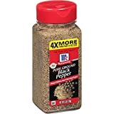 McCormick Pure Ground Black Pepper delivers a sharp aroma & earthy heat Always from premium, hand-harvested pepper Pantry staple for seasoning in the kitchen and at the table Blend into soups and stews Livens up salads, vegetables, pasta, rice or pot...