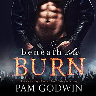 Beneath the Burn audiobook cover art