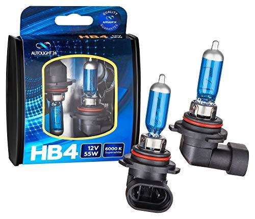 2 x HB4 9006 NEBELSCHEINWERFER XENON LOOK HALOGEN LAMPEN 4300 Kelvin