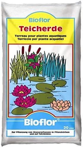 Bioflor® Teicherde 60 Liter (3x20) für alle Wasser- und Sumpfpflanzen