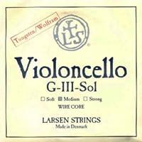 CUERDA VIOLONCELLO - Larsen (Wire Core) (Wolframio Niquel) 3ェ Medium Cello 4/4 (G) Sol (Una Unidad)