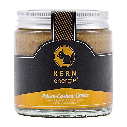 KERNenergie Pekan-Cashew Creme, 120g hochwertiger Nussaufstrich, frei von Zusätzen & künstlichen Aromen