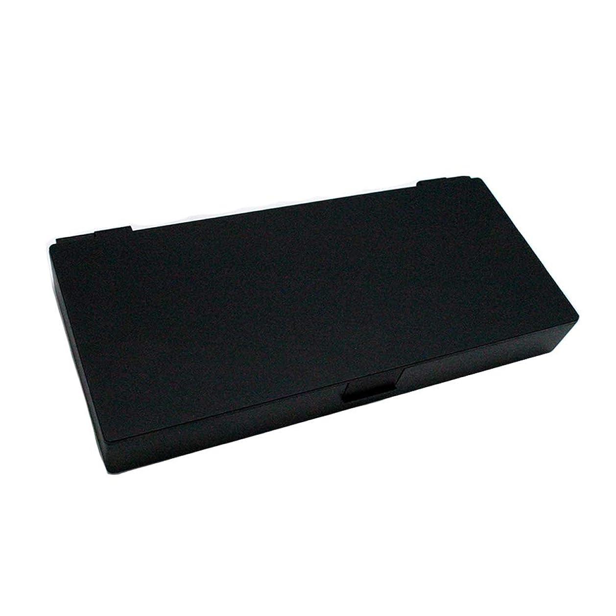 到着する買う国アップスタイリングシステムボックス (ブラック) ノンスリップ ヘアピン ケース コスメボックス メイクボックス メークボックス メイクケース メークケース
