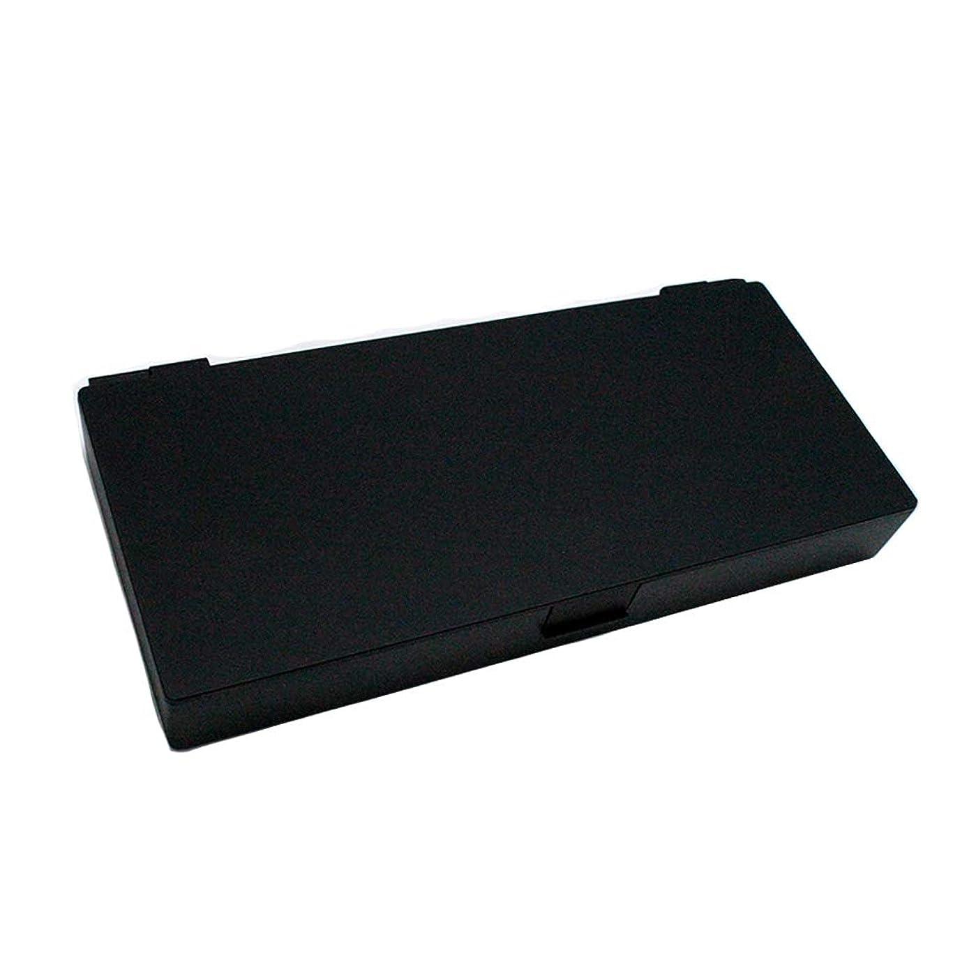 まとめる大邸宅曇ったアップスタイリングシステムボックス (ブラック) ノンスリップ ヘアピン ケース コスメボックス メイクボックス メークボックス メイクケース メークケース