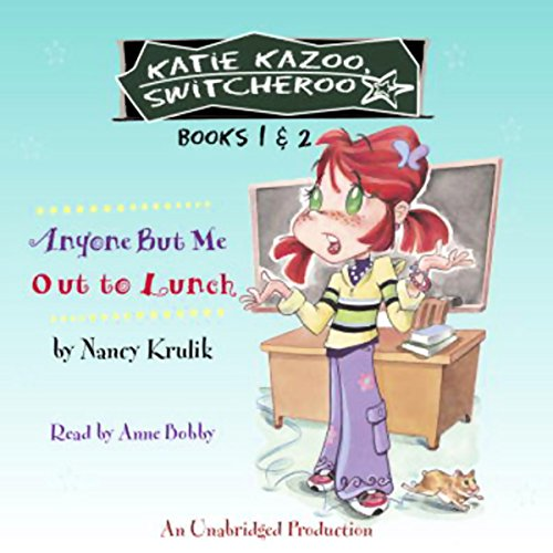 Anyone But Me and Out to Lunch audiobook cover art