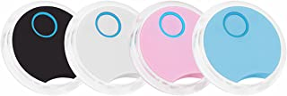 $35 » PUSDIL 4 Pack Bluetooth Tracker Keys Finder and Item Locator for Keys, Bags and More, Water Resistant with 2 Replaceable B...