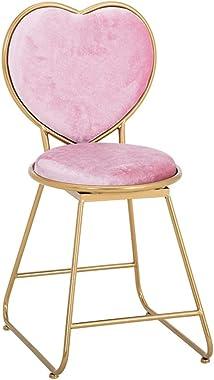 Vanity Stool Vanity Chair Makeup Chair Vanity Stool with Back Heart Shaped Makeup Stool Vanity Chairs for Bedroom Vanity Benc