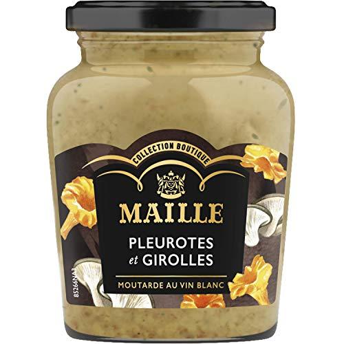Maille Dijon Senf mit Austernpilze und Steinpilze