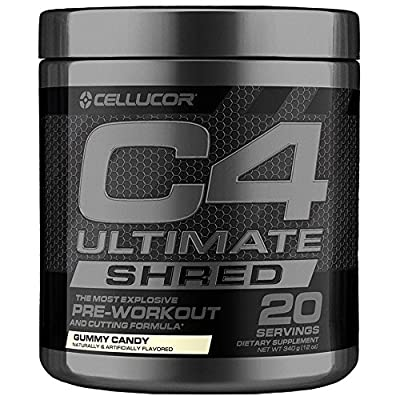 Cellucor C4 Ultimate Shred Pre Workout Powder