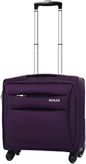 YCYHMY 16 inch Trolley case Travel case Computer Boarding case Mini Compact (Purple)