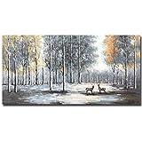 Boieesen Art,24x48inch Oil Hand Painting 100%...