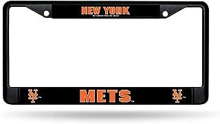 Rico Industries New York Mets Black Chrome Frame