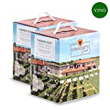 2 Bag in Box Verduzzo igt Venezia Giulia - 5 litri - Vino Bianco - Lorenzonetto Friuli Venezia Giulia