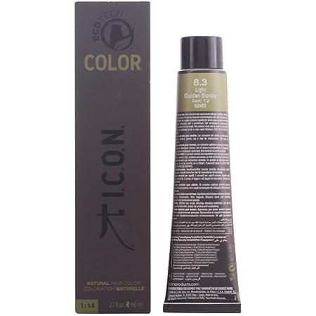 Icon Ecotech Natural Color 8.3 Light Golden Blonde Tinte - 60 ml